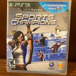 Sports championship PS3 move game